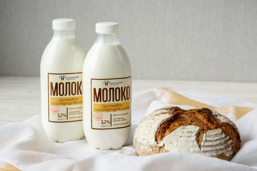 Молоко питьевое пастеризованное 3,2%