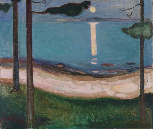 Munch. Moonlight