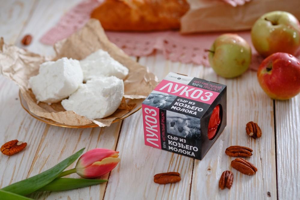 """Сыр мягкий """"Лукоз"""" из козьего молока"""